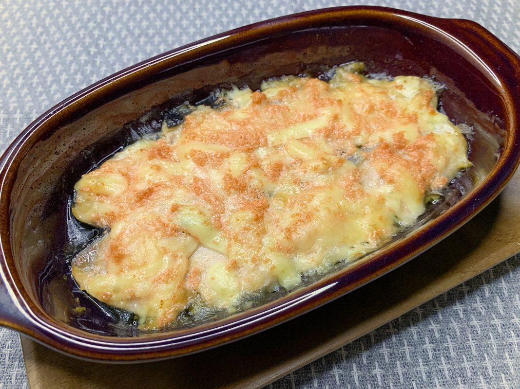 甘塩鮭のチーズ明太焼